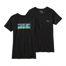 Women's Board Short Label Cotton Crew T-Shirt by Patagonia