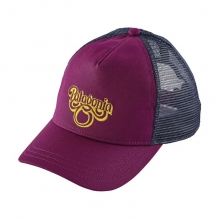 Women's Groovy Type Layback Trucker Hat