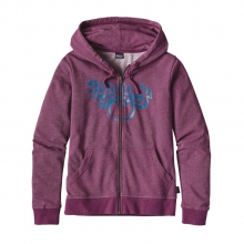 Women's Groovy Type Lightweight Full-Zip Hoody
