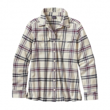 Women's L/S Fjord Flannel Shirt by Patagonia in Edwards Co