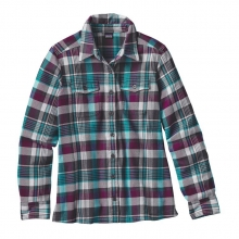 Women's L/S Fjord Flannel Shirt by Patagonia in Boulder Co