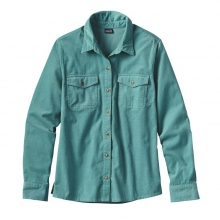 Women's L/S Micro Cord Shirt by Patagonia