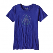 Women's Live Simply Knapping Cotton Crew T-Shirt by Patagonia