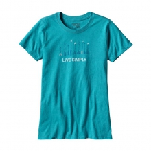 Women's Live Simply Quiver Cotton/Poly Crew T-Shirt