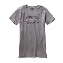 Women's Morning Glow Cotton/Poly Crew T-Shirt by Patagonia