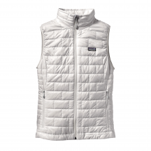 Women's Nano Puff Vest by Patagonia in Burlington Vt