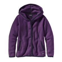 Women's Shearling Fleece Hooded Cardigan