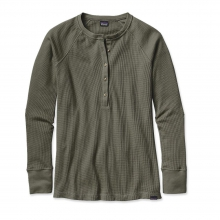 Women's Waffle Henley by Patagonia in Truckee Ca