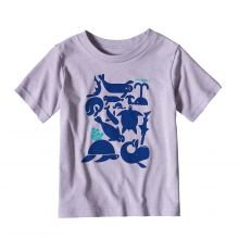 Baby Live Simply Sea Buds Cotton/Poly T-Shirt