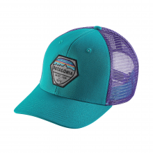 Fitz Roy Hex Trucker Hat by Patagonia in San Luis Obispo Ca