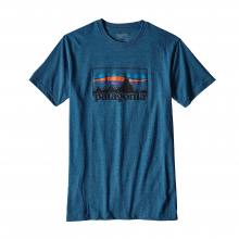 Men's '73 Logo Cotton/Poly T-Shirt by Patagonia in Lewiston Id