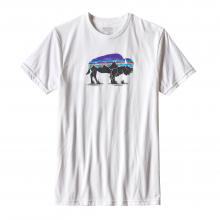 Men's Fitz Roy Bison Cotton/Poly T-Shirt by Patagonia