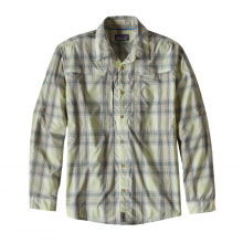 Men's L/S Sun Stretch Shirt by Patagonia in Sandy Ut