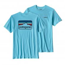 Men's Line Logo Badge Cotton/Poly Responsibili-Tee by Patagonia