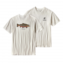 Men's World Trout Rio Tigre Cotton T-Shirt by Patagonia in Wakefield Ri