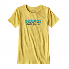 Women's Pastel P-6 Logo Cotton Crew by Patagonia in Wakefield Ri
