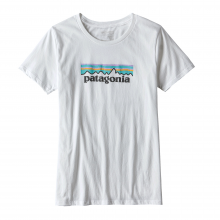 Women's Pastel P-6 Logo Cotton Crew by Patagonia