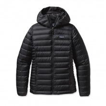 Women's Down Sweater Hoody by Patagonia in Bend Or