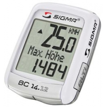 BC14.12 - 14 Function Cyclometer - White in Lisle, IL