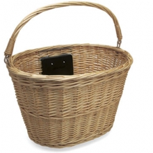 Quick-Release Wicker Basket by Electra