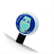 Bubble Valve Caps Night Owl by Electra