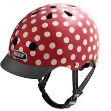 Women's Mini Dots Street Helmet by Nutcase