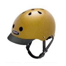 Metallic Gold Street Helmet by Nutcase