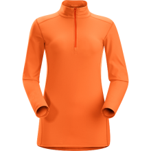 Phase AR Zip Neck LS Women's by Arc'teryx in Succasunna Nj