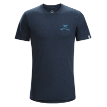 Bird Emblem SS T-Shirt Men's by Arc'teryx
