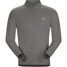 Accelerator LS Zip Neck Men's