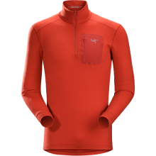 Satoro AR Zip Neck LS Men's by Arc'teryx in Mobile Al