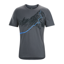 Afterglo HW SS T-Shirt Men's by Arc'teryx in Vernon Bc