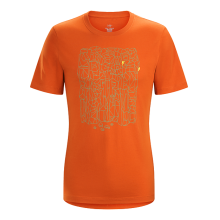 Block SS T-Shirt Men's by Arc'teryx