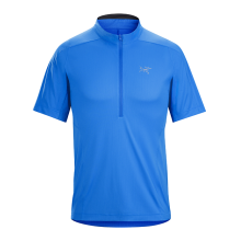 Velox Zip Neck SS Men's by Arc'teryx