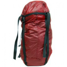 Ultralight Vertical Compression Stuff Sack 7in. x 21in. - Red by Campmor