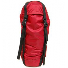 Vertical Compression Stuff Sack 5.5in. x 18in. - Red by Campmor