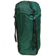 Vertical Compression Stuff Sack 9in. x 24in. - Green by Campmor