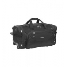 Outdoor Products O'Hare Rolling Travel Bag - Black by Campmor