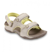 The North Face El Rio II Sandal - Women's - Fossil Ivory/Chiffon Yellow In Size: 11 by Campmor
