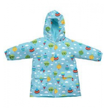 Toddler Raincoat with Hood - Aqua In Size: Small by Campmor