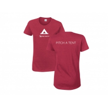 T-shirt: Women's Pitch a Tent by Big Agnes in Truckee Ca