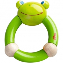 Croaking Frog Clutching Toy by HABA in Ann Arbor MI