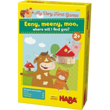 My Very First Games - Eeny, meeny, moo, where will I find you? by HABA in Irvine Ca