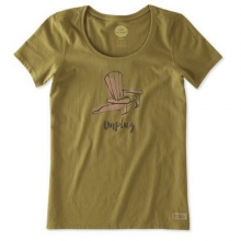 Women's Unplug Adirondack Chair Crusher Scoop Shirt in State College, PA