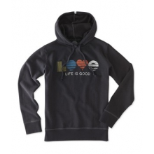 Go-To Hoodie - Women's-NightBlk-M by Life Is Good