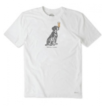 Man's Best Friends Beer Crusher Tee - Men's - Cloud White In Size in State College, PA