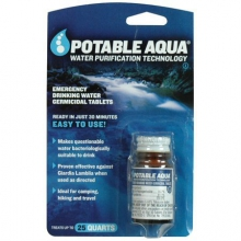 Germicidal Water Purification Tablets - by Potable Aqua