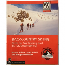 Backcountry Skiing - Skills for Ski Touring and Ski Mountaineering by The Mountaineers Books