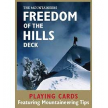 Freedom of the Hills Playing Cards - Featuring Mountaineering Tips - Cards in San Diego, CA