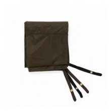 Trail Tent 4 Fitted Polyester Footprint - Brown by Slumberjack